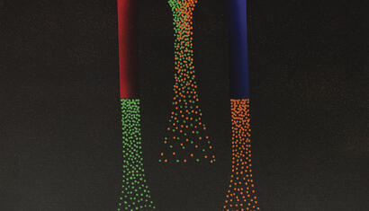 Julio Le Parc. Alchimie, 1990. Acrylic on canvas. Signed. 23,62 x 23,62 inches.