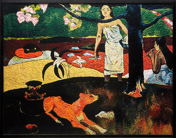 Pastorales Tahitienses después de Paul Gaugin